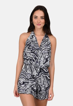 LALY - Jumpsuit - black and white
