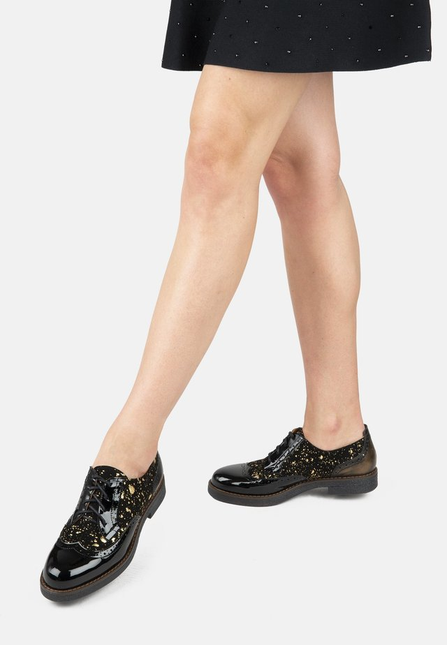 THE ARTIST  - Casual lace-ups - black