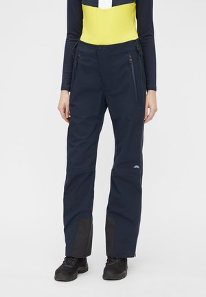 DEBBY SHELL - Trousers - jl navy