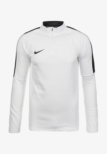 ACADEMY 18 DRILL - T-shirt sportiva - white
