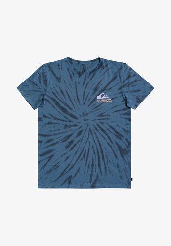 SLOW LIGHT - Print T-shirt - captains blue