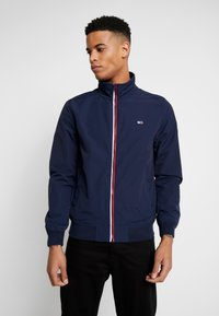 Tommy Jeans - ESSENTIAL JACKET - Summer jacket - dark blue - 0