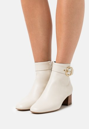 ADOLIA - Classic ankle boots - ivoire