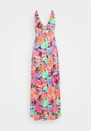 FLOWERING CRYSTAL DRESS - Beach accessory - pink