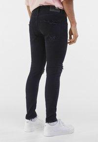 Bershka - Jeans Skinny Fit - black - 2