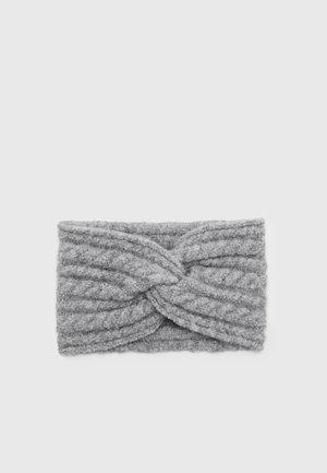 ONLSALLY LIFE CABLE HEADBAND - Ear warmers - light grey melange