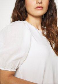 Dorothy Perkins Petite - PETITES COTRAST TEE - Print T-shirt - white - 5