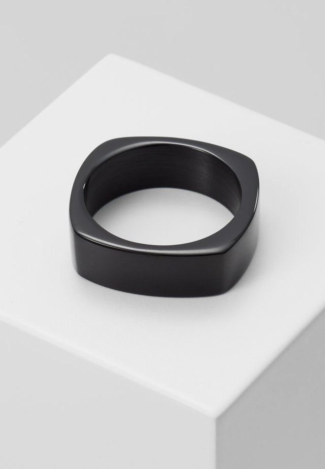RING CLASSIC LINE - Ring - black