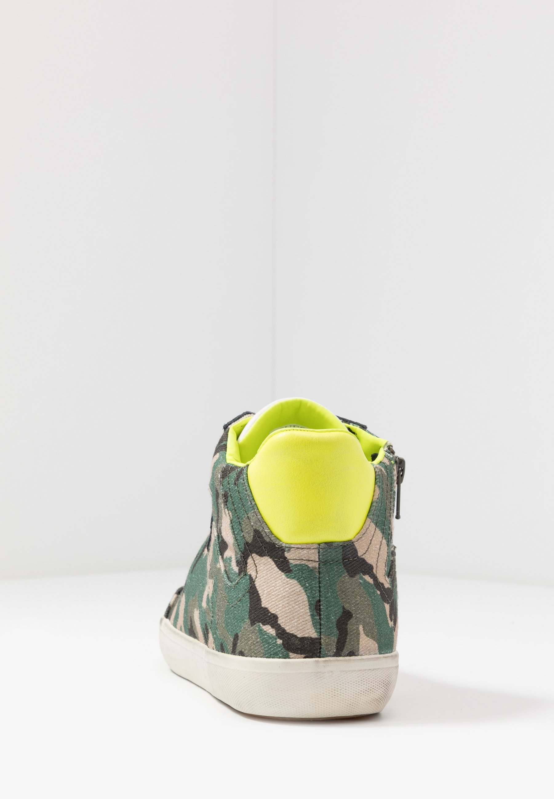 STATEMENT Höga sneakers khaki