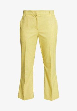 SLFADA-EMI CROPPED FLARED PANT - Trousers - empire yellow