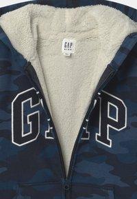 GAP - BOY COZY LOGO - Zip-up hoodie - dark blue - 2