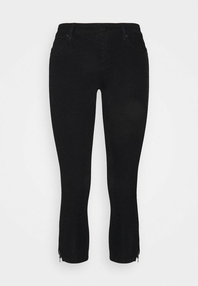 NMKIMMY ANKLE  - Skinny džíny - black denim