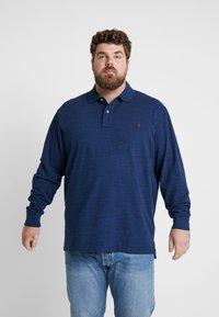 Polo Ralph Lauren Big & Tall - BASIC - Pikeepaita - monroe blue heath - 0