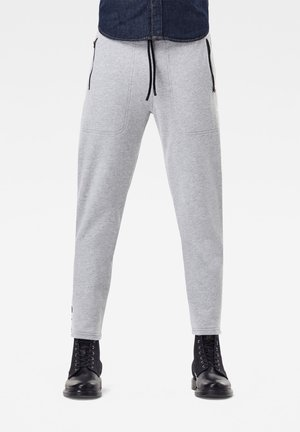 TAPING SWEATPANTS - Pantaloni sportivi - grey htr