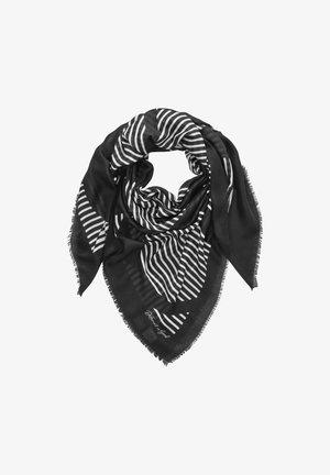 MIT STATEMENT-PRINT - Scarf - black stripes