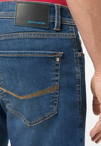 Pierre Cardin - Denim shorts - darkblue - 2