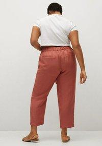 Violeta by Mango - COTILI8 - Trousers - pink - 2