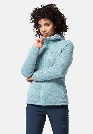 Fleece jacket - frosted blue