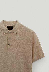 Massimo Dutti - Polo shirt - beige - 3