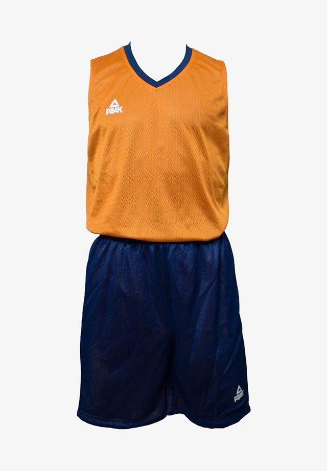 Sports shorts - bleu-orange