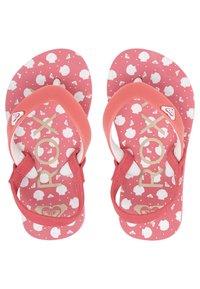 Roxy - TAHITI VI - T-bar sandals - bright rose - 2