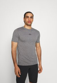 Oakley - BARK NEW - Basic T-shirt - athletic heather grey - 0