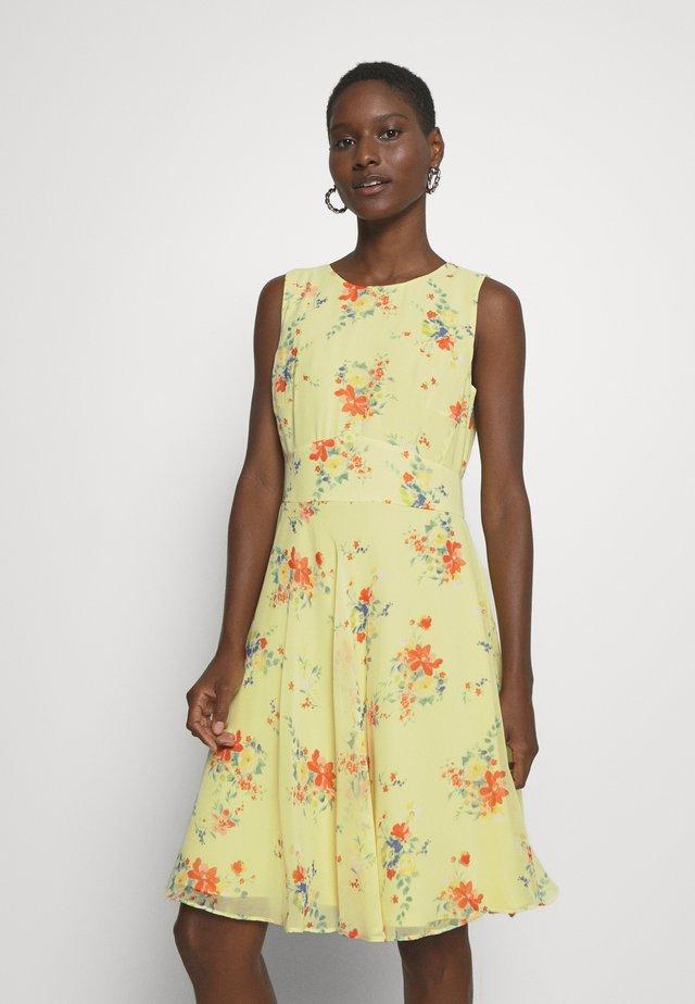 LUX FLUID - Day dress - lime yellow