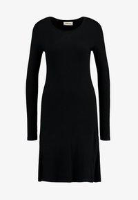 KROWN FLARE DRESS - Jumper dress - black