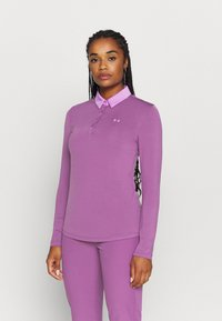 Under Armour - ZINGER  - Funkční triko - baltic plum - 0