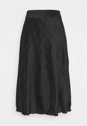 ELLA WAVE SKIRT - A-line skirt - black