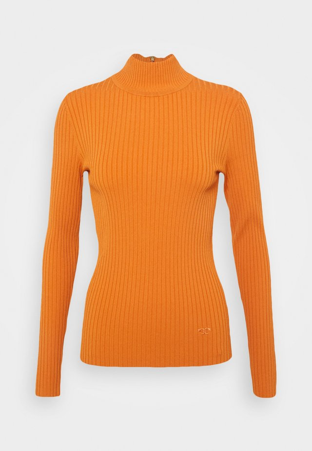 TURTLENECK - Maglione - light orange rust