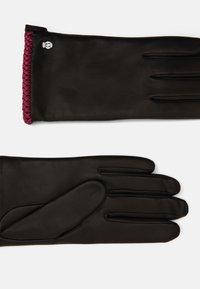Roeckl - BRIGHTON - Gloves - black/pink - 1