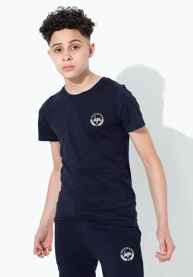 CREST - Print T-shirt - navy