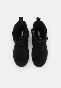 Geox - CASEY GIRL WPF - Cowboy/biker ankle boot - black - 3