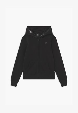 HOODY ZIPPER - Collegetakki - black