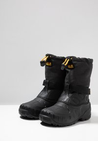 Jack Wolfskin - ICELAND HIGH - Winter boots - black/burly yellow - 3