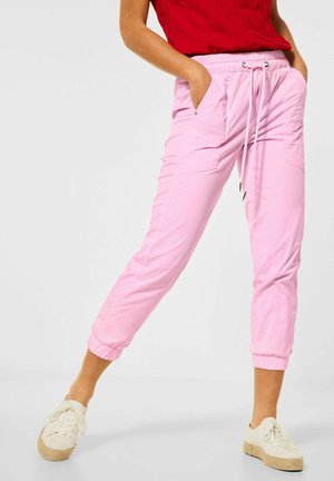MIT TUNNELZUG - Trousers - rosa