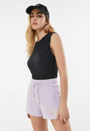 MIT PRINT  - Shorts - mauve