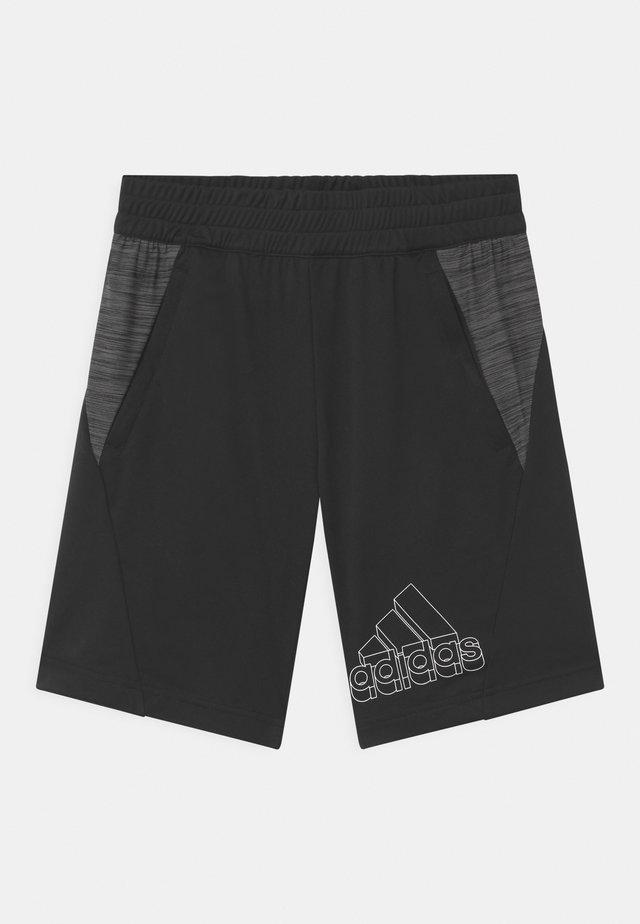 UNISEX - Short de sport - black/white