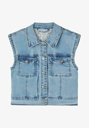 Waistcoat - light blue denim