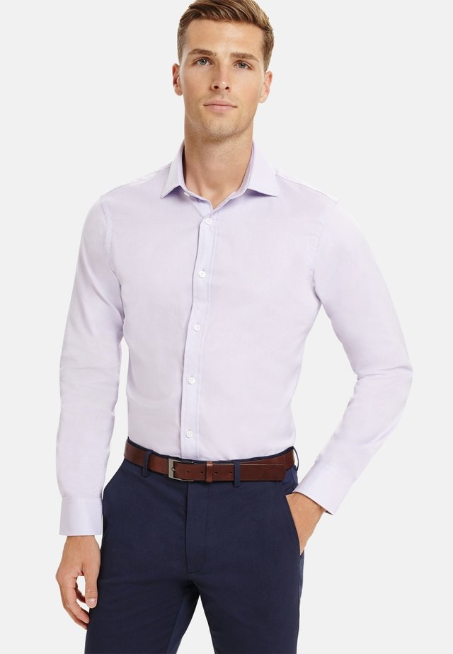 FITTED OXFORD  - Formal shirt - purple