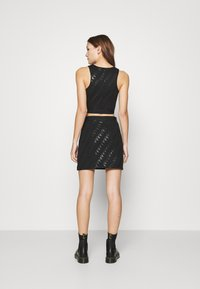 Calvin Klein Jeans - MILANO CROP TANK - Top - black - 2