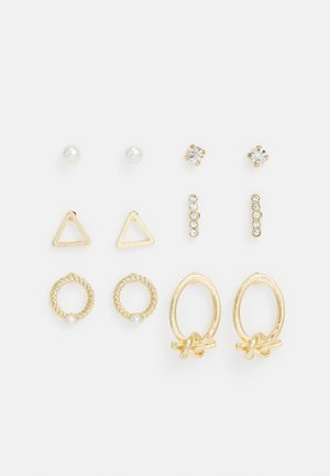 ONLVICTORIA EARRING 6 PACK - Earrings - gold-coloured