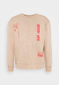 ABSENT PRINT - Sweatshirt - brown