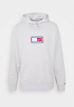 TIMELESS HOODIE UNISEX - Sweatshirt - silver grey heather