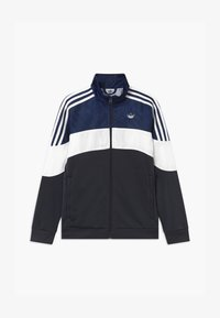 adidas Originals - TRACK UNISEX - Training jacket - black/dark blue/white - 0