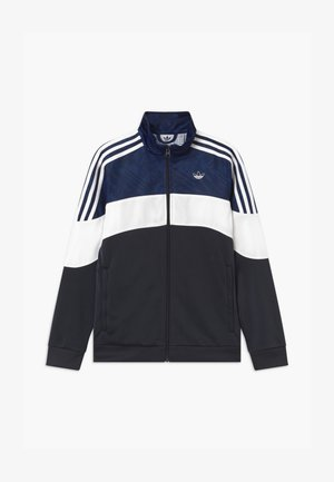 TRACK UNISEX - Veste de survêtement - black/dark blue/white