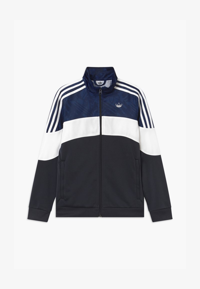 adidas Originals - TRACK UNISEX - Training jacket - black/dark blue/white