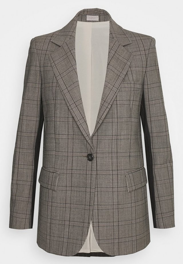 Blazer - grey  black