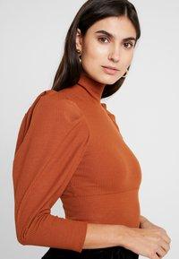 Trendyol - SIYAH - T-shirt à manches longues - cinnamon - 4